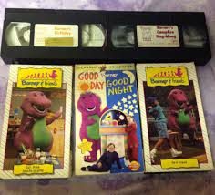 barney barney rhymes with mother goose vhs 1993 in dvds