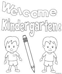 printable kindergarten coloring pages kids cool2bkids
