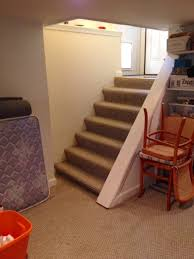 reconfiguring basement stairs w o adequate headroom