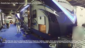 dutchmen aerolite luxury class 242bhsl youtube