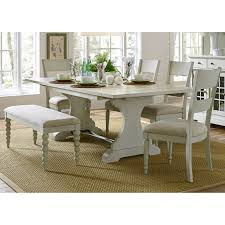 Dining Room Table Set With Bench Steve Silver Lakewood 6 Piece Dining Table Set Hayneedle