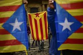 Flag Of Catalonia Catalan Independence Declaration Could Be Monday Source The New