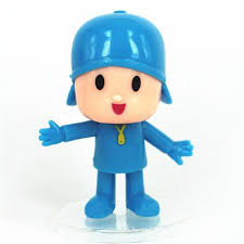 pocoyo cake toppers pocoyo and friends model cake topper 5x character pocoyo pato