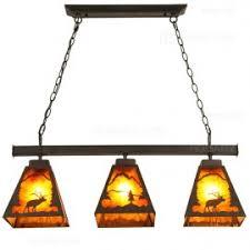 Rustic Pool Table Lights by Rustic Faux Deer Antler Resin Twig Island Pool Table Pendant