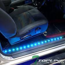 chevy silverado interior lights 2x 36 2x 48 7 color interior car kit led lights strip music system