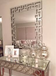 Entrance Tables And Mirrors Nikki Ro S Opulent Entryway Gets A Dose Of Dimension From Our