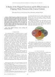 a study of the flipped classroom and its effectiveness in flipping