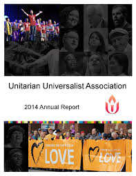 Kristine Brabson by 2014 Uua Annual Report On Giving By Uua Stewardship And