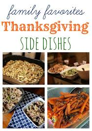 my favorite thanksgiving side dishes by peanut butter fingers