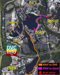 Disney World Epcot Map Disney U0027s Boardwalk Villas Dvcinfo Com