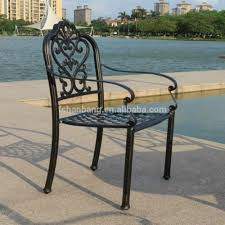 French Style Patio Furniture by American French Style Cast Iron Metal Aluminum Dining Garden Chair
