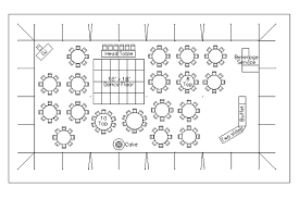 party floor plan cad tent layout for wedding reception with 150 guests in anacortes