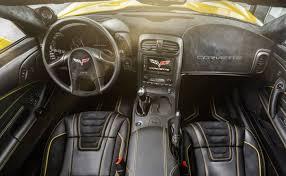 2010 corvette interior c6 corvette yellow line carlex upgrade gm authority