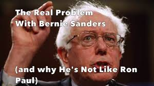 Ron Paul Meme - the problem with bernie sanders and why he s nothing like ron paul