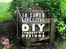 How To Make A Compost Pile In Your Backyard by 18 Cool Diy Compost Bin Designs