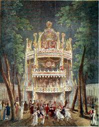 vauxhall gardens today old coloured books george paston