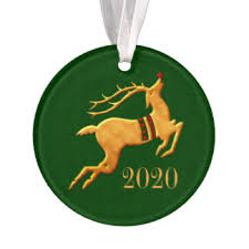 Gold Reindeer Christmas Tree Decorations by Gold Reindeer Christmas Tree Decorations U0026 Ornaments Zazzle Co Uk