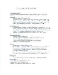 sample dental assistant resume orthodontist resume objective dalarcon com orthodontist resume objective dalarcon