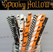 halloween paper products themed paper straws paper straws buy wholesale paper drinking