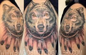 biagio s gallery tattoos nature wolf catcher