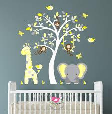 stickers jungle chambre bébé stickers savane chambre bb best free chambre bb ides dco