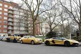 gold cars even gold supercars aren u0027t exempt from receiving parking tickets