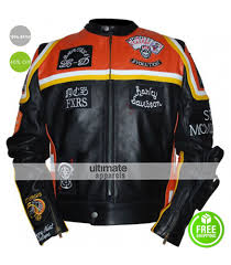 motorcycle leathers harley davidson marlboro man biker leather jacket