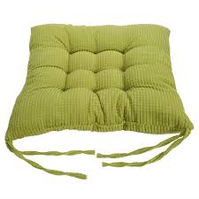 dining chair cushions with ties corn velvet seat cushions tie on chunk chair pads for sofa dining