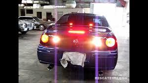 04 impala led tail lights chevrolet impala pov tail lights flasher youtube