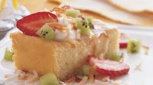 tres leches cake with crema de coco recipe bettycrocker com
