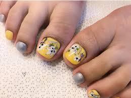 30 ideas for toenail art designs gorgeus pedicure nail art new