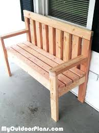 garden wooden chair simple garden bench free woodworking plans and