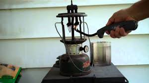 lighting a coleman lantern how to operate and light a coleman gas lantern youtube