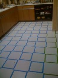 Can You Paint Bathroom Wall Tile Here U0027s How To Paint Vinyl Flooring Click Through For Instructions
