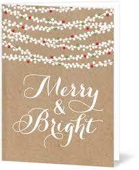 brown christmas cards personalized christmas cards