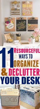 How To Organize Your Desk At Home For School 11 Desk Organization Hacks That Will Improve Your Productivity