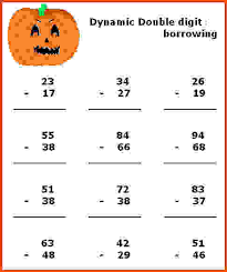 halloween math worksheets halloween subtraction worksheet gif