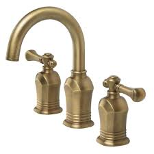 antique brass bathroom faucets bath the home depot