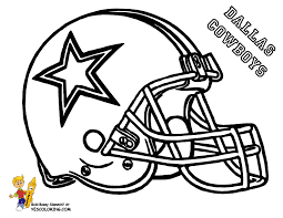 Pro Football Helmet Coloring Page Nflr Footba L Free Coloring Football Coloring Page