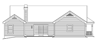 Craftsman Ranch House Plans Bungalow Country Craftsman Ranch House Plan 87811