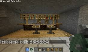 Minecraft Dining Table Minecraft Bar Bar Stool Design Rwitherspoon Throughout Amazing