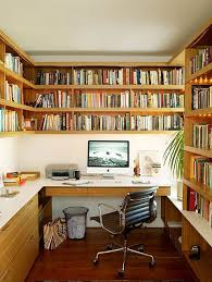 home office design books great idea for a home office that houses a lot of books create a