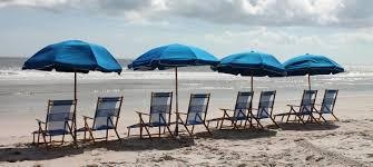 Beach Umbrella And Chair Riptide Beach Services Amelia Island Fl Beach Rentals