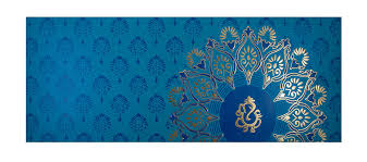 modern hindu wedding invitations color modern hindu wedding invitation with flower design