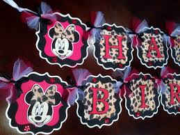 Pink And Black Minnie Mouse Decorations 70 Best Minnie And Leopard Images On Pinterest Leopards Mice