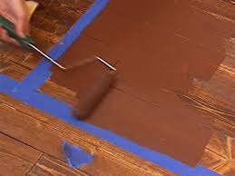 how to create a faux rug with paint hgtv