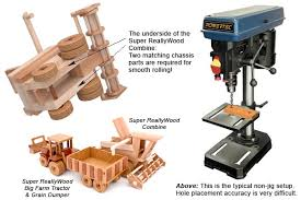 learn to make perfect wood toy axle holes