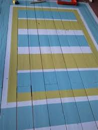 Painting An Outdoor Rug How To Paint An Area Rug With Stencils On An Outside Deck U2014 Linda
