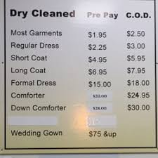 Price To Dry Clean A Comforter Dry Clean Depot 23 Reviews Dry Cleaning 1142 W Sunset Rd