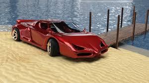 ferrari prototype 2016 car render challenge 2016 ferrari type car u2013 wip and 3d art